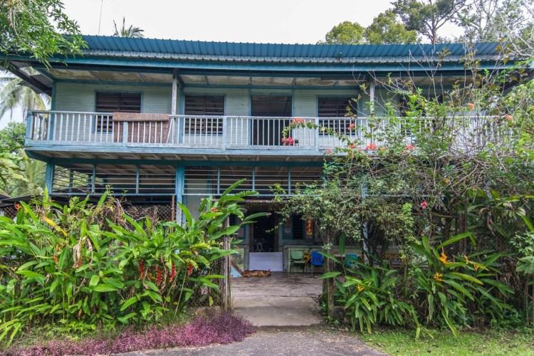 maison bois pulau ubin singapour