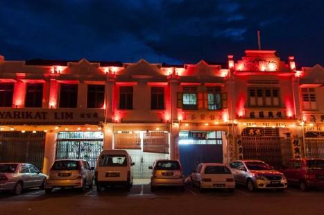 malacca de nuit - malaisie