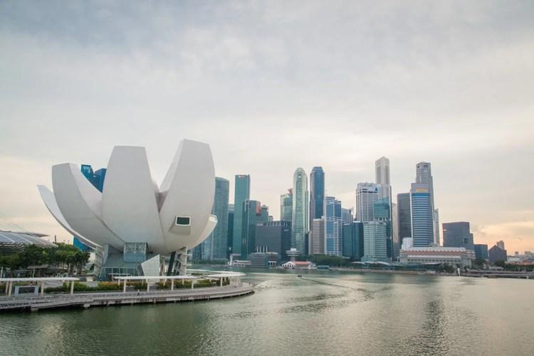 marina bay singapour
