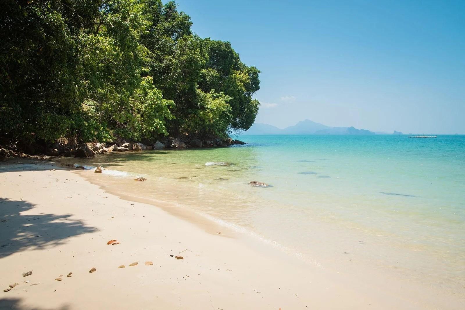 plage de pasir tengkorak langkawi - malaisie