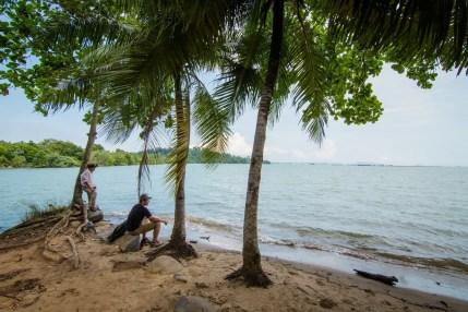 plage sensory trail pulau ubin singapour