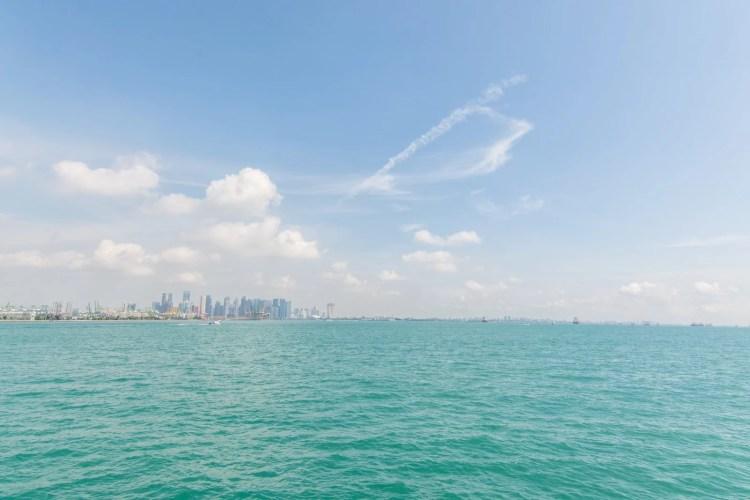 sieges exterieurs ferry st john singapour