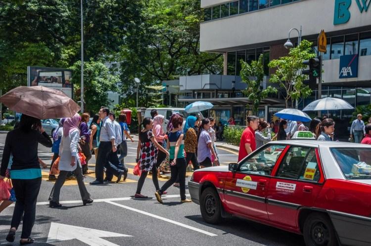 taxi kuala lumpur - malaisie