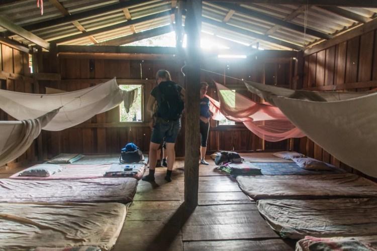 chambre commune trek chiang mai - thailande