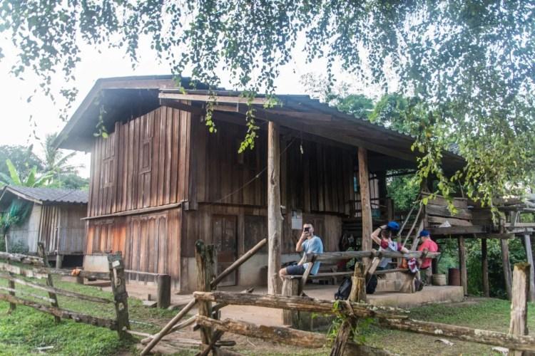 maison pour la nuit trek chiang mai - thailande