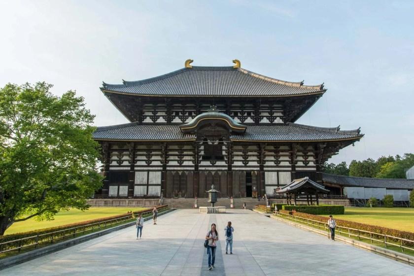 daibutsu-den temple todai-ji nara - japon