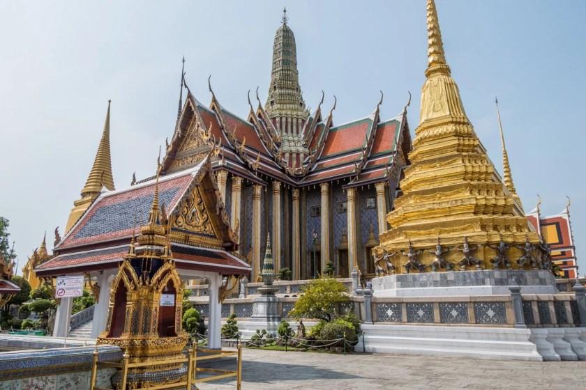 grand palais vide crise coronavirus thailande
