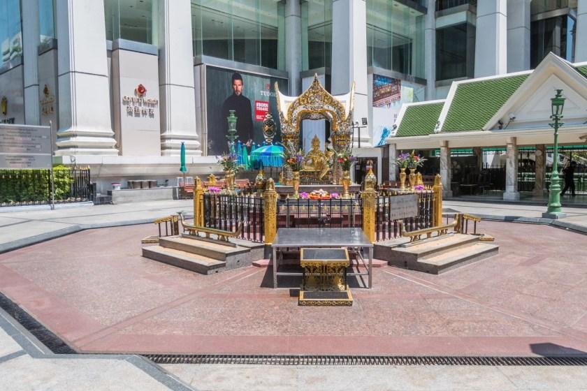 sanctuaire erawan bangkok vide crise coronavirus thailande