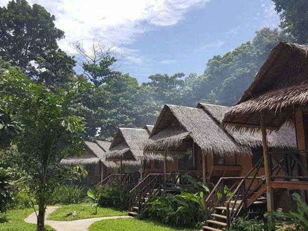 exterieur bungalow jungle garden ko chang