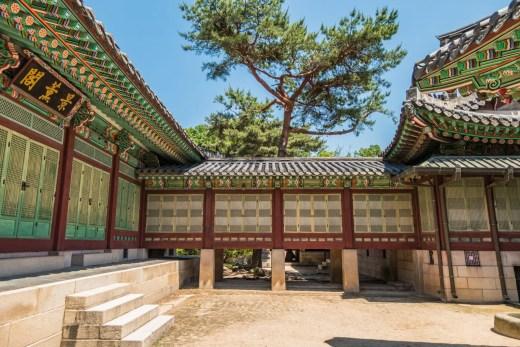 ensemble daejojeon - palais changdeokgung seoul