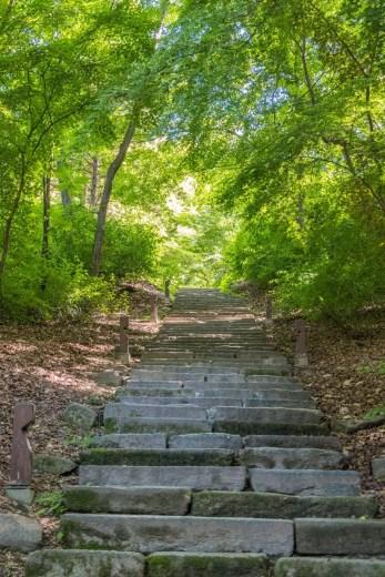 escalier jardin secret changdeokgung seoul