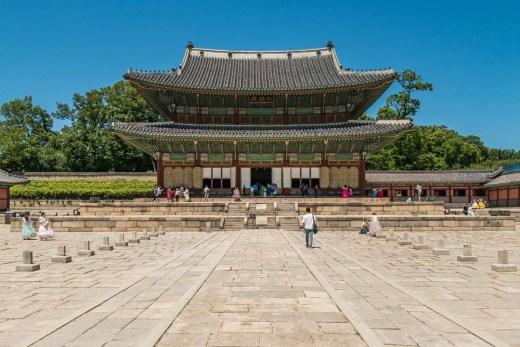 palais changdeokgung seoul - coree du sud