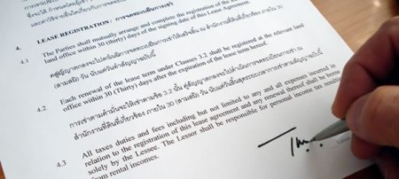The Thailand Lease Agreement according to the Thai law this is a lease agreement template agreement in thai and english language
