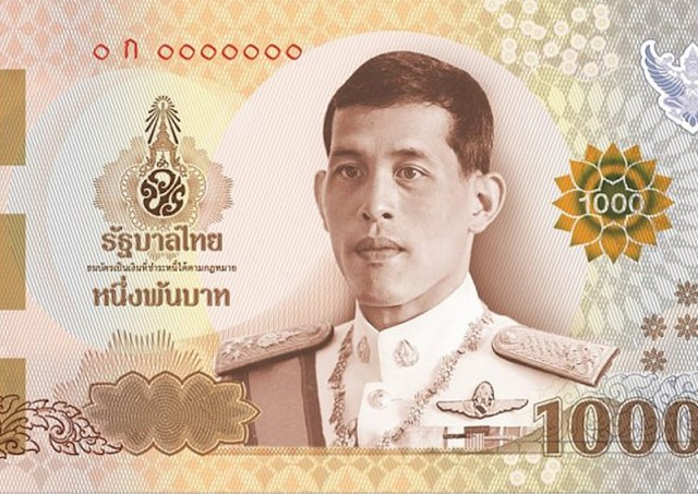 New 500-baht, 1,000-baht banknotes now in circulation
