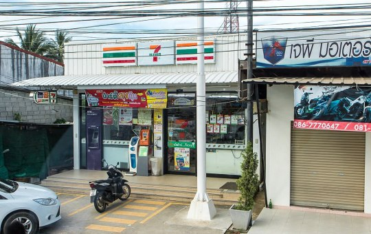 7 Eleven convenience store in Phuket