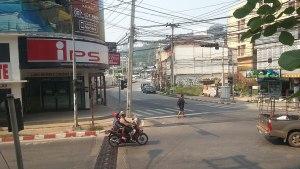 A road in Chonburi province