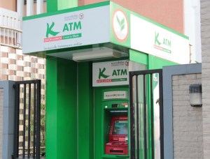 Kasikornbank ATM in Bangkok