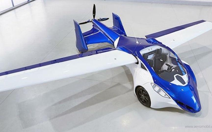 The flying roadster Aeromobil 3.0 flying car