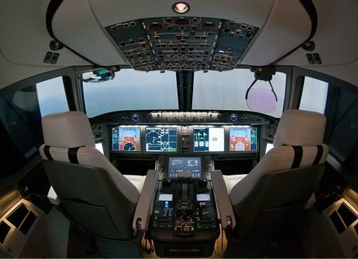 MS-21 cockpit