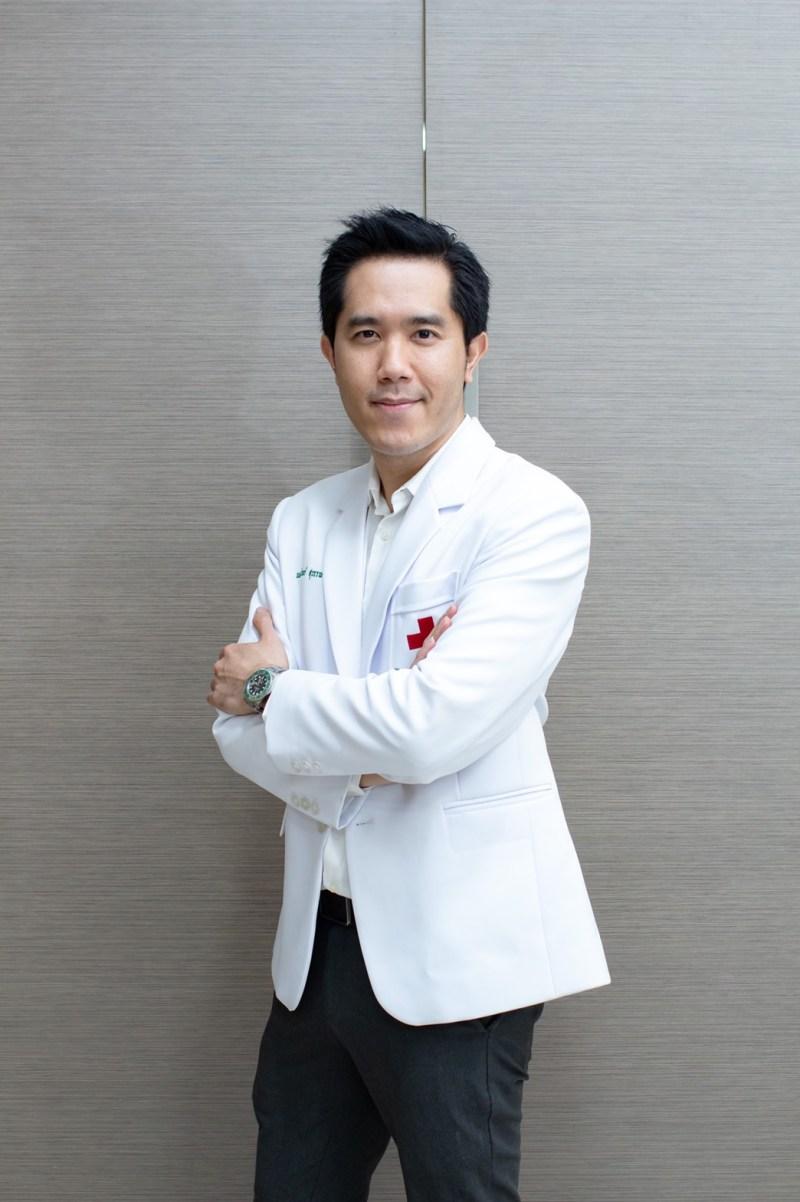 Amarin Suwan, M.D., a lecturer of Gender Medicine and Menopause
