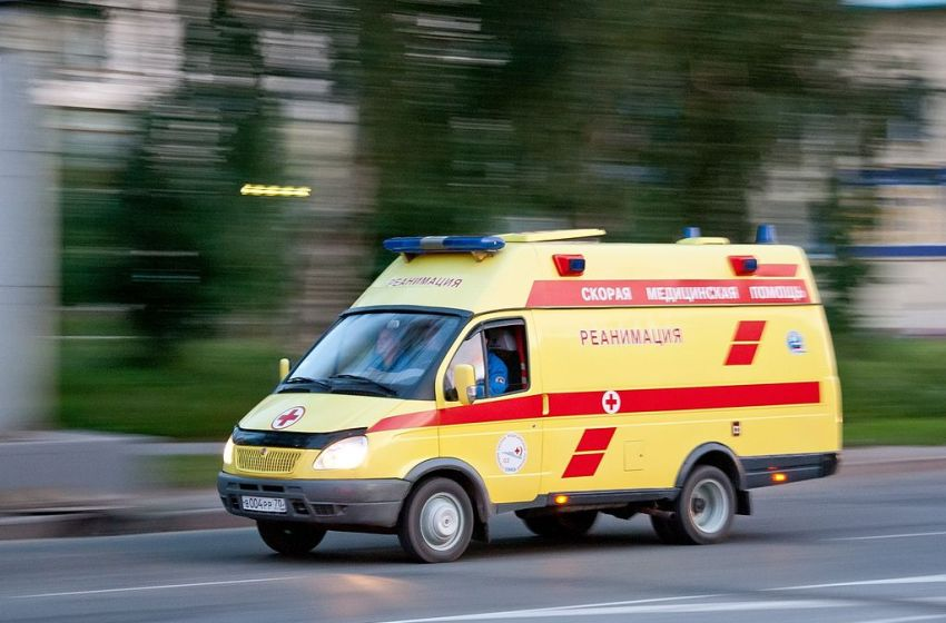 Ambulance in Tomsk, Russia