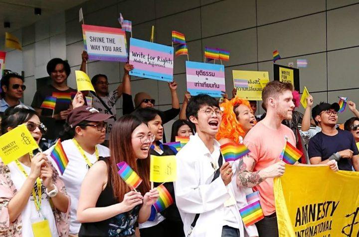 Amnesty Thailand first ever Youth Summit