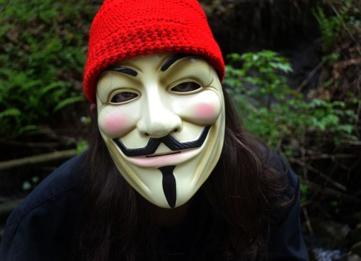 Guy Fawkes vendetta mask