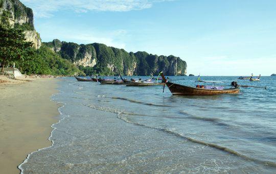 Ao Nang beach in Ao Nang, Krabi