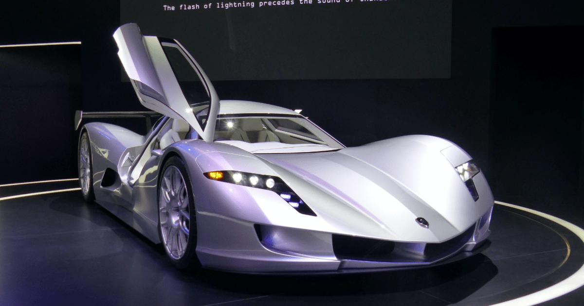 Aspark Owl Electric Supercar Concept
