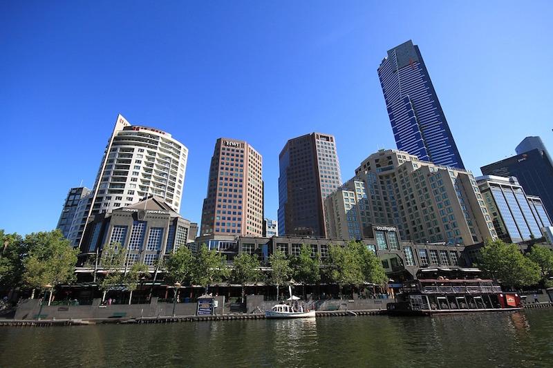 Buildings in Melbourne, Australia