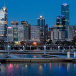 The Melbourne skyline