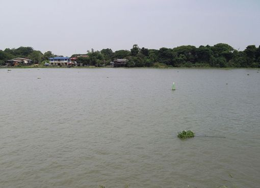 The Chao Phraya River in Bang Pa-in District, Phra Nakhon Si Ayutthaya Province
