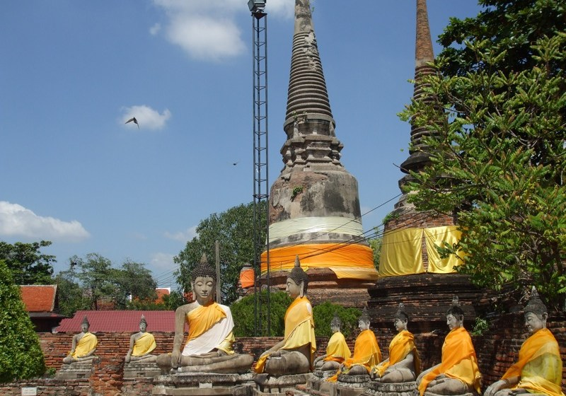 Facebook uproar over woman sitting in Ayutthaya Buddha's lap