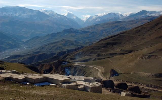 Caucasus Mountains in northern Azerbaijan. Image: Vago.