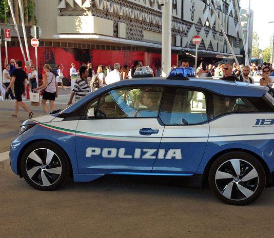 BMW i3 Italian Police