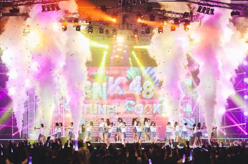 Thai Idol Group BNK48 Member Wears Nazi Flag on Stage