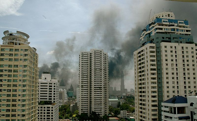 Two killed and five others injured in Bangkok building fire