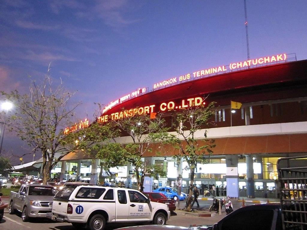 Chatuchak Mo Chit 2 Bus Terminal in Bangkok