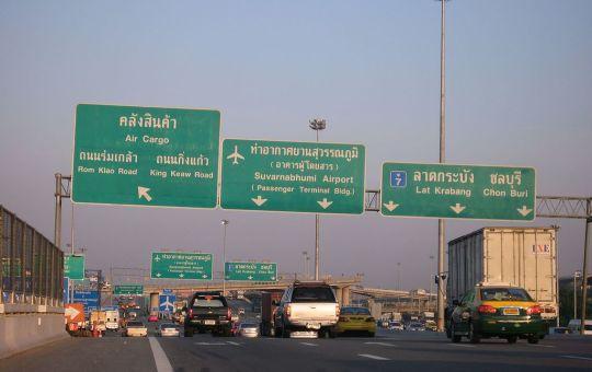 Bangkok Chonburi highway