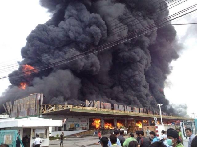 Bangkok-Fire-Samut-Prakan