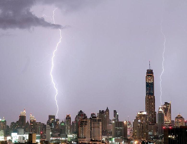 Storm in Bangkok