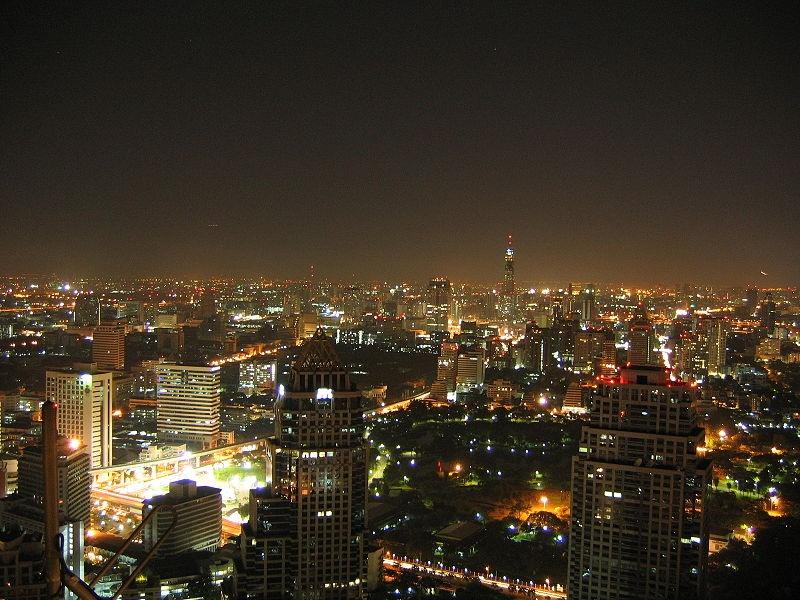 Bangkok at night time