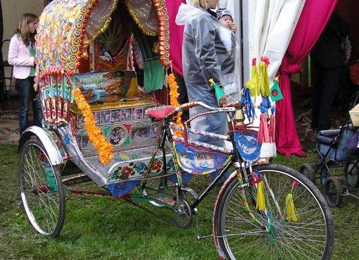 Rickshaw in Bangladesh