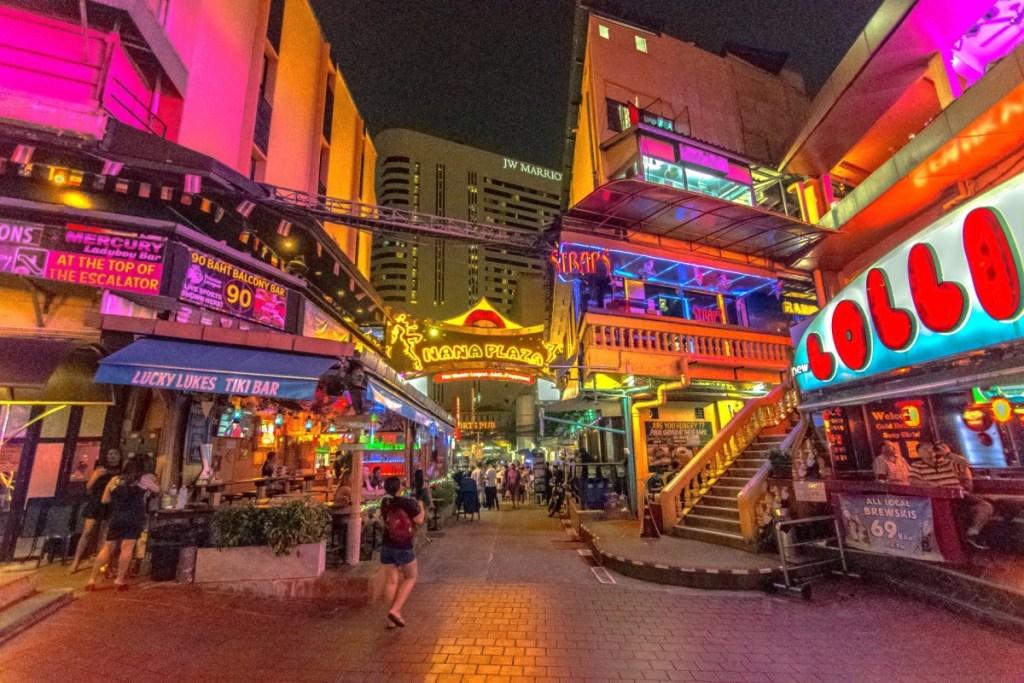 Bars in Nana Plaza Red Light District, Bangkok