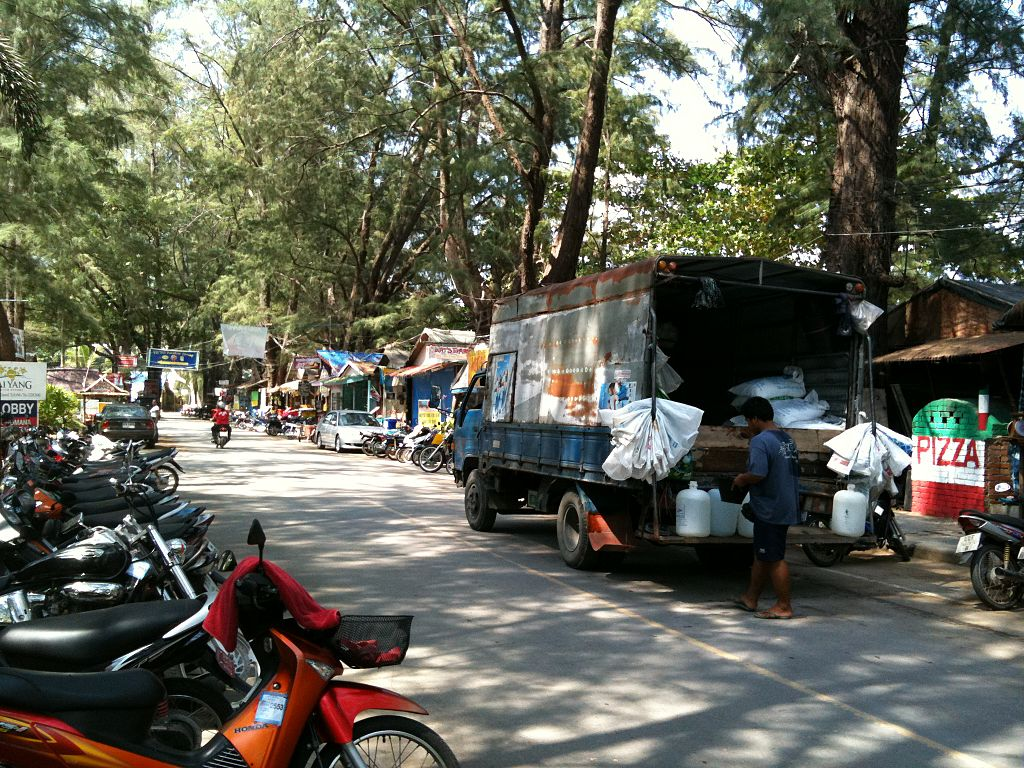 Beach Road in Nai Yang, Phuket