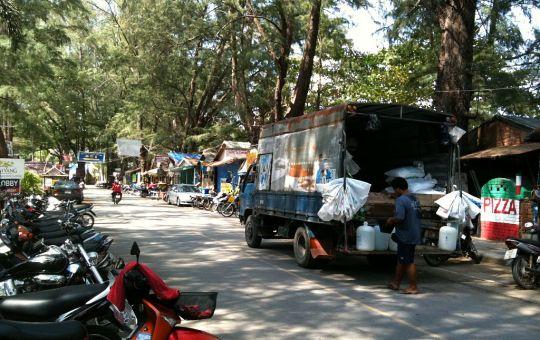 Beach Road in Nai Yang, Phuket