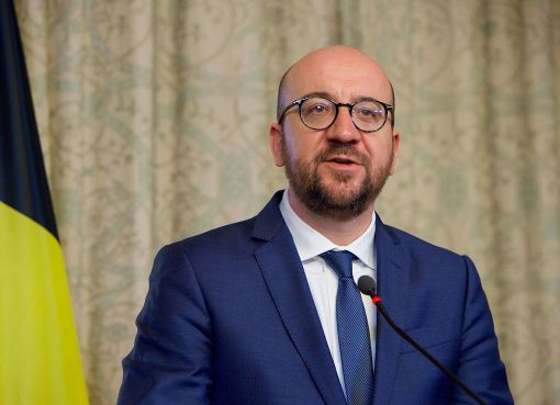 Belgian Prime Minister Charles Michel