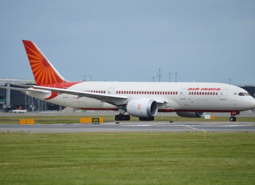 Boeing 787-8 Deamliner 'VT-ANL' Air India on flight AIC116 to Delhi