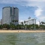Buildings in Jomtien Beach, Pattaya