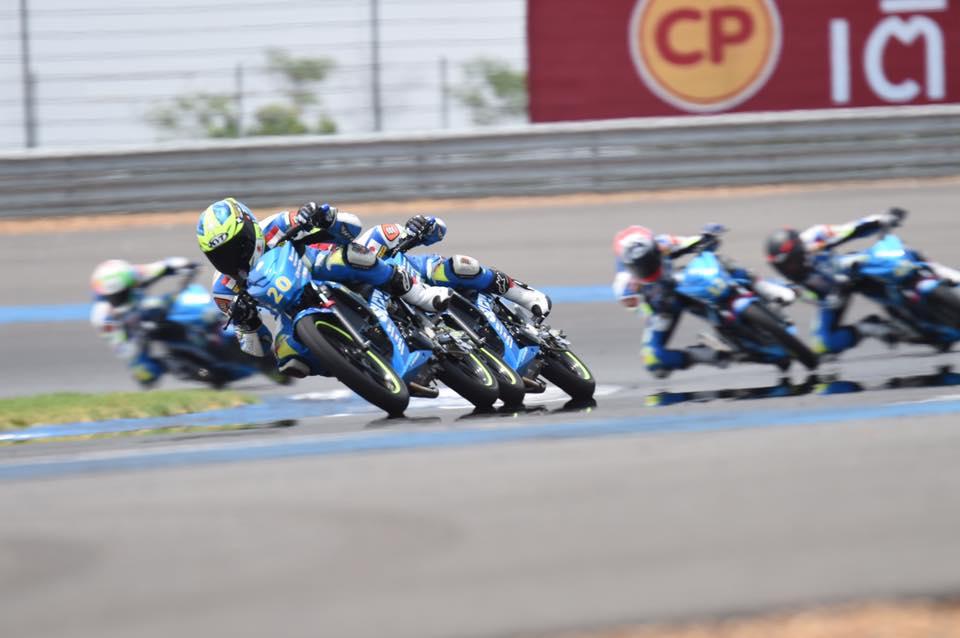 Suzuki Asian Challenge Final Round at Chang International Circuit Buriram, Thailand on 2-4 December, 2016